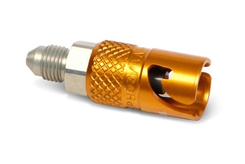 Earls Plug With 3/8-24 Jic End Fitting / Fvmq