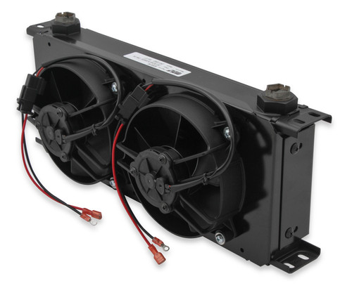 Earls 20 Row X-Wide Cooler And Fan Pack Black