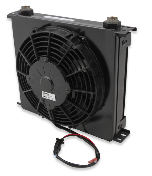 Earls 34 Row Wide Cooler And Fan Pack Black
