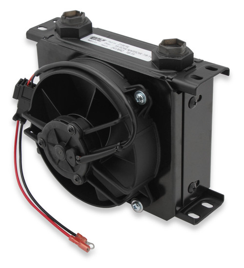 Earls 19 Row Narrow Cooler And Fan Pack Black