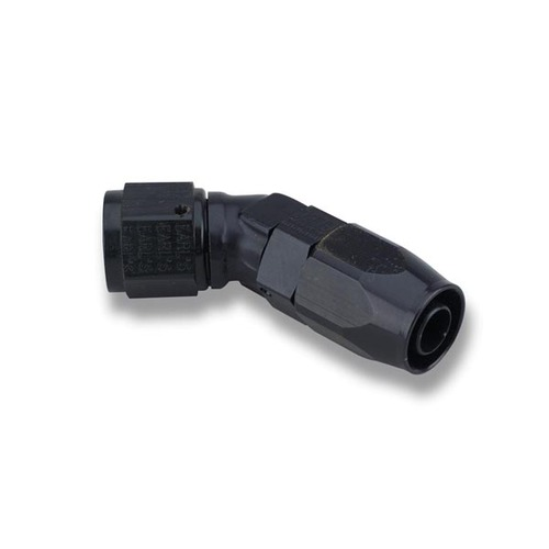 Earls -8 45 Deg. L/P Black Swivel-Seal