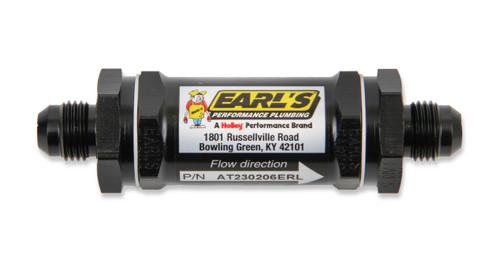 Earls Black -4 An 85 Mic Screen Fuel Filter