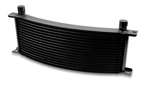 Earls -6M 16 Row Wide Curved Cooler Black