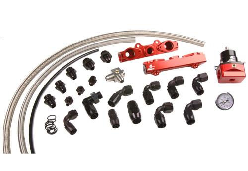 Aeromotive 04-06 2.5L Side Feed Injector Subaru STI Rail kit