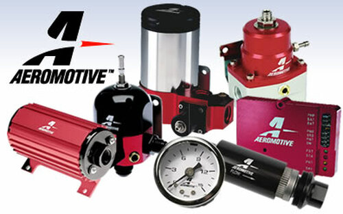 Aeromotive Ford 4.6 L Fuel Rail Pressure Sensor to AN -08 Adapter