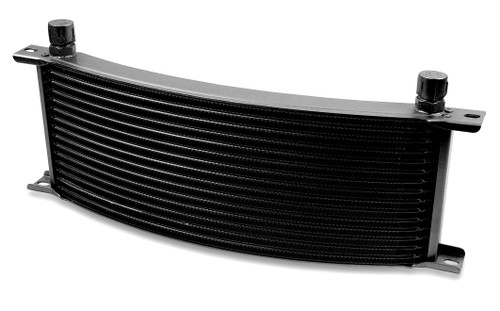 Earls -6M 16 Row Narrow Curved Cooler Black