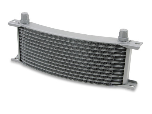 Earls .8M 13 Row Narrow Curved Cooler Grey