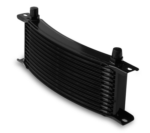 Earls -6M 13 Row Narrow Curved Cooler Black