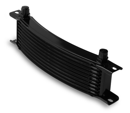 Earls -6M 10 Row Narrow Curved Cooler Black