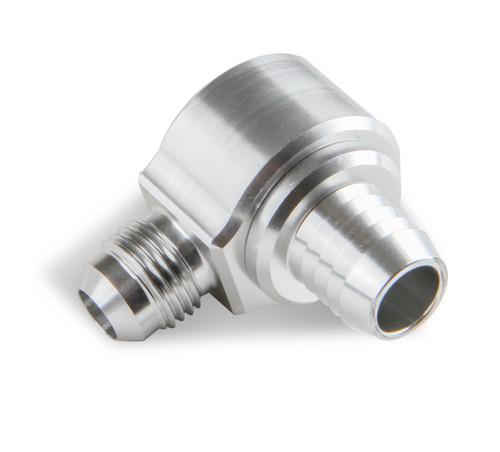 Earls 6An Male Brake Booster Check Valve-Clear