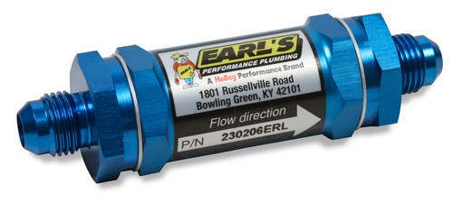 Earls -4 Fuel Filter