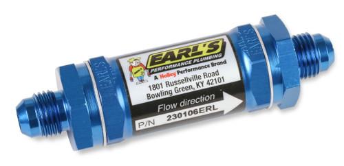 Earls -6 An Fuel Filter