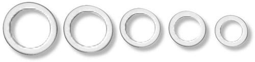 Earls Aluminum Crush Washer - 8Mm (10 Pack)