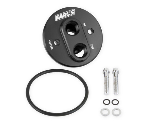 Earls Sbc Remote Oil Filter Adapter
