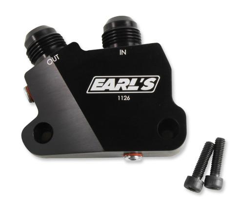 Earls Gm Lt Engine Oil Cooler Adapter