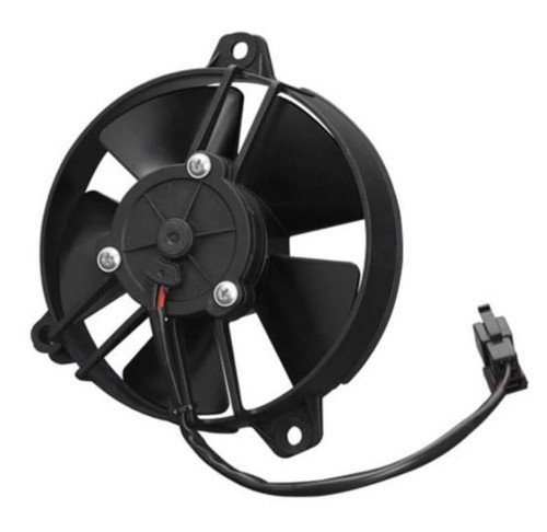 """SPAL 5.20"""" Inch electric Fan Pusher Style Medium Profile 260CFM 5 Paddle Style Blades"""