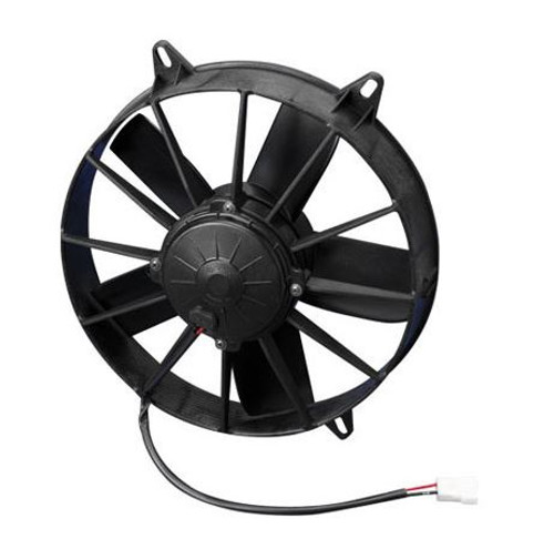 """SPAL 12.00"""" Inch electric Fan Pusher Style High Performance 1628CFM 5 Paddle Style Blades"""