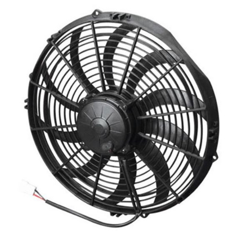 """SPAL 14.00"""" Inch Electric Fan Pusher Style High Performance 1841 CFM 10 Curved Style blade"""