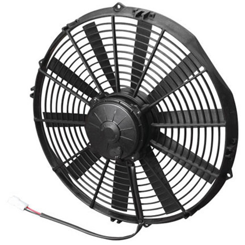 """SPAL 14.00"""" Inch Electric Fan Pusher Style High Performance 1652 CFM 10 Straight Style blades"""