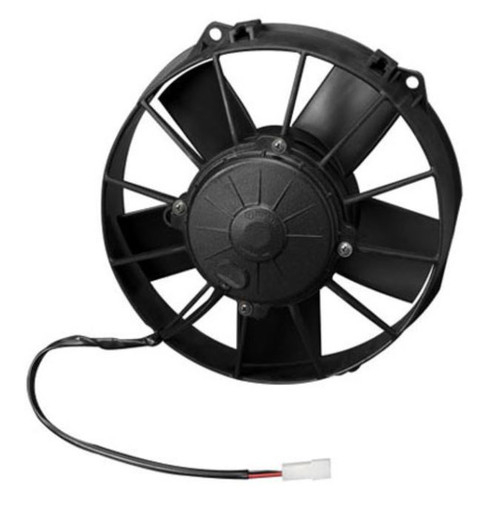 """SPAL 9.00"""" Inch Electric Fan Pusher Style High Performance 767CFM 5 blade paddle style blade"""
