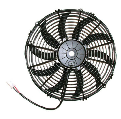 """SPAL 13.00"""" Electric Fan Pusher Style High Performance 1682CFM 10-blade curved style blade"""