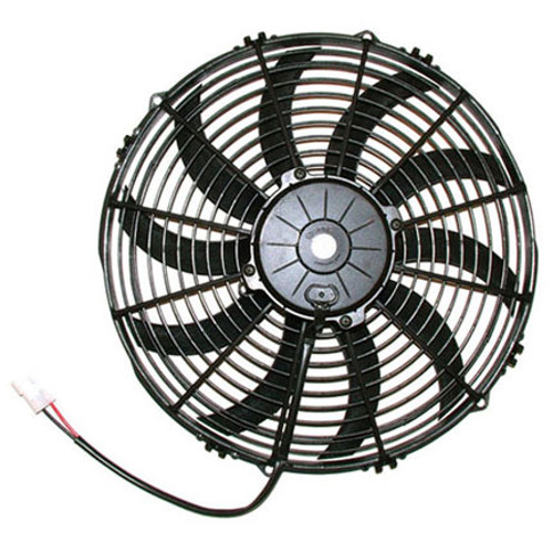 """SPAL 13.00"""" Inch Electric Fan Puller Style High Performance 1777 CFM 10 Curved Style blades"""