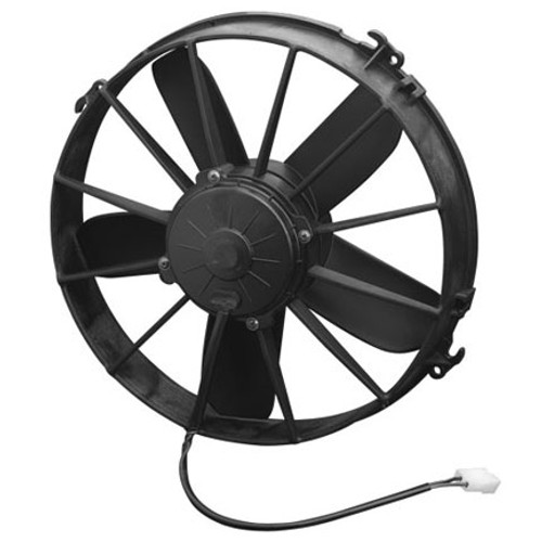 """SPAL 12.00"""" Inch Electric Fan Puller Style High Performance 1640 CFM 5 Paddle Style blades"""