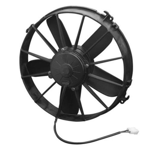 """SPAL 12.00"""" Inch Electric Fan Pusher Style High Performance 1640 CFM 10 Straight Style blades"""