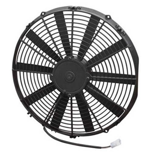"""SPAL 16.00"""" Inch Electric Fan Pusher Style Medium Profile 1604 CFM 10 Straight Style blades"""