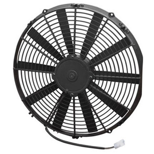 """SPAL 16.00"""" Inch Electric Fan Puller Style Medium Profile 1604 CFM 10 Straight Style blades"""