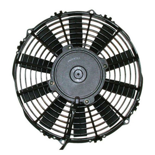 """SPAL 12.00"""" Inch Electric Fan Pusher Style Medium Profile 1227 CFM 10 Straight Style blades"""
