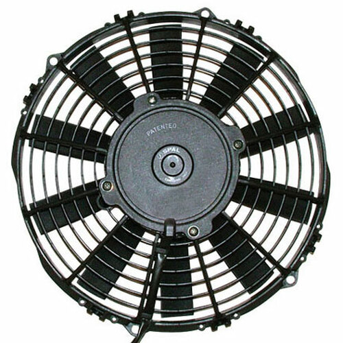 """SPAL 12.00"""" Inch Electric Fan Puller Style Medium Profile 1227 CFM 10 Straight Style blades"""