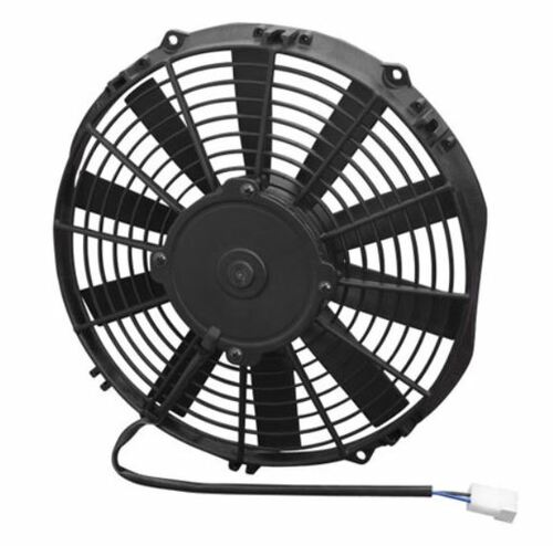 """SPAL 11.00"""" Electric Fan Pusher Style Medium Profile 962CFM 10-blade straight style blade"""