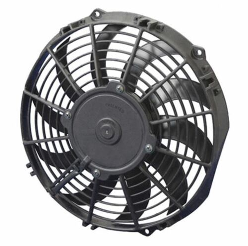 """SPAL 10.00"""" Electric Fan Puller Style High Performance 802 CFM 10-blade curved style"""