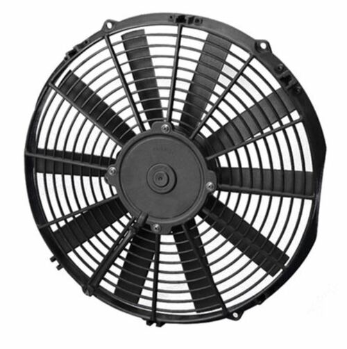 """SPAL 13.00"""" Inch Electric Fan Puller Style Low Profile 1032 CFM 10 Straight Style blades"""