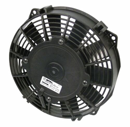 """SPAL 7.50"""" Inch Electric Fan Puller Style Low Profile 407CFM 10 Paddle Style blades"""