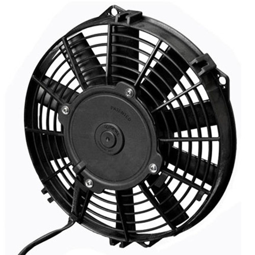 """SPAL 9.00"""" Inch Electric Fan Puller Style Low Profile 590 CFM 10 Straight Style blades"""