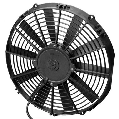 """SPAL 12.00"""" Inch Electric Fan Pusher Style Low Profile 861 CFM 10 Straight Style blades"""