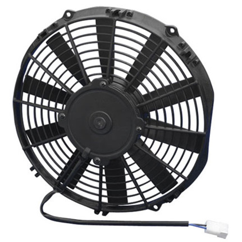 """SPAL 11.00"""" Inch Electric Fan Puller Style Low Profile 808 CFM 10 Straight Style blades"""