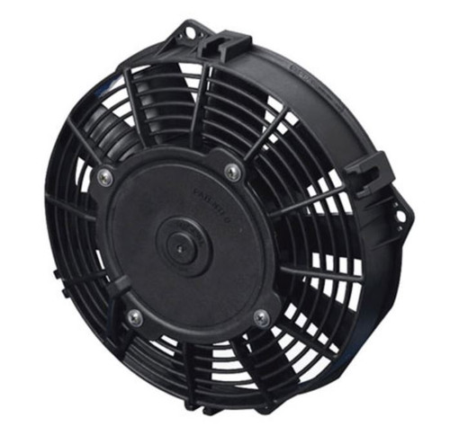 """SPAL 7.50"""" Inch Electric Fan Puller Style Low Profile 437CFM 10 Paddle Style blades"""