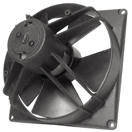 """SPAL 5.60"""" Inch Electric Fan Puller Style Low Profile 295 CFM 5 Paddle Style blades"""