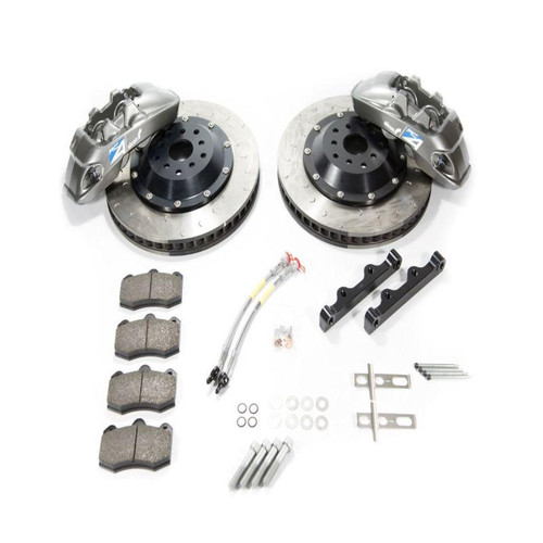 Alcon RC6 Grey Front Brake Kit for Nissan GT-R R35