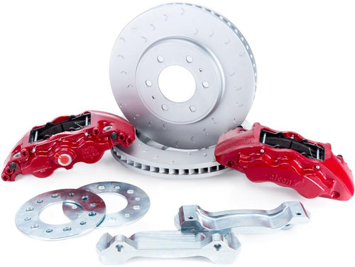 Alcon RC6 Red Front Brake Kit for Nissan GT-R R35