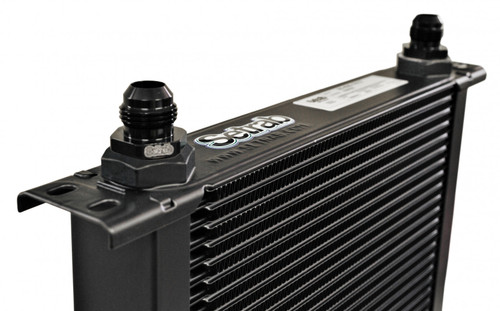 Setrab 34-Row Series 6 Oil Cooler 2 with M22 Ports