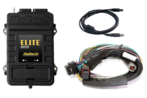 Haltech Elite 1500 + Basic Universal Wire-in Harness Kit 8'