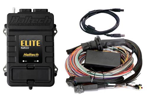 Haltech Elite 2500 + Premium Universal Wire-in Harness Kit 8'