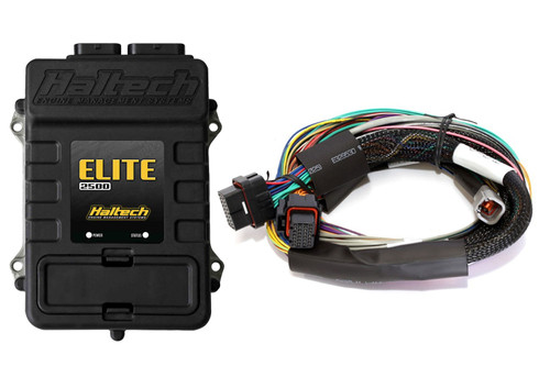 Haltech Elite 2500 + Basic Universal Wire-in Harness Kit 8'