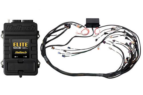 Haltech Elite 2500 T + GM GEN IV LSx (LS2/LS3 etc) non DBW Terminated Harness Kit Bosch EV1 injector