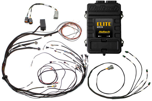 Haltech Elite 1500 + Mazda 13B S6-8 CAS with IGN-1A Ignition Terminated Harness Kit