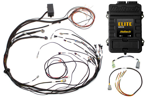 Haltech Elite 1500 + Mazda 13B S4/5 CAS with Flying Lead Ignition Terminated Harness Kit